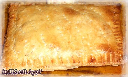 Empanada de jamón y queso 1